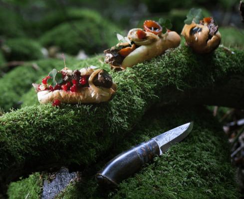 Opskrift vild foiegras hotdog